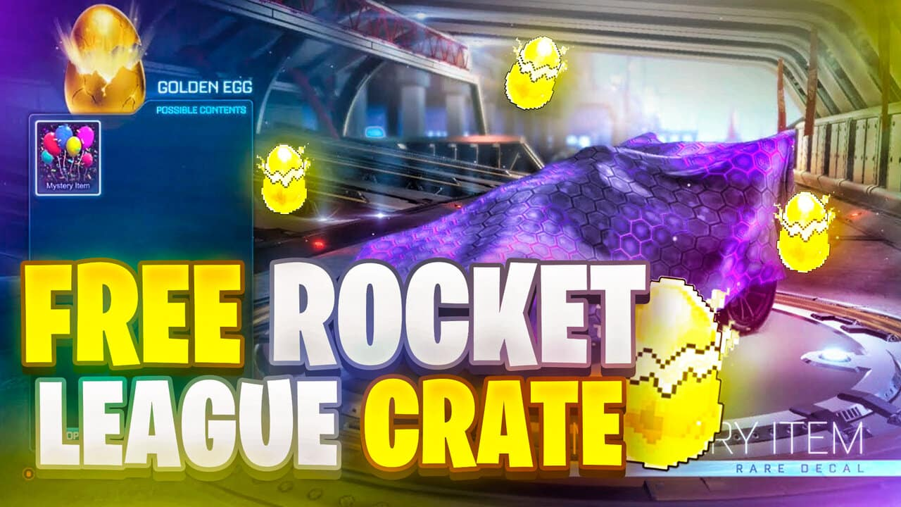 golden egg rocket league free create