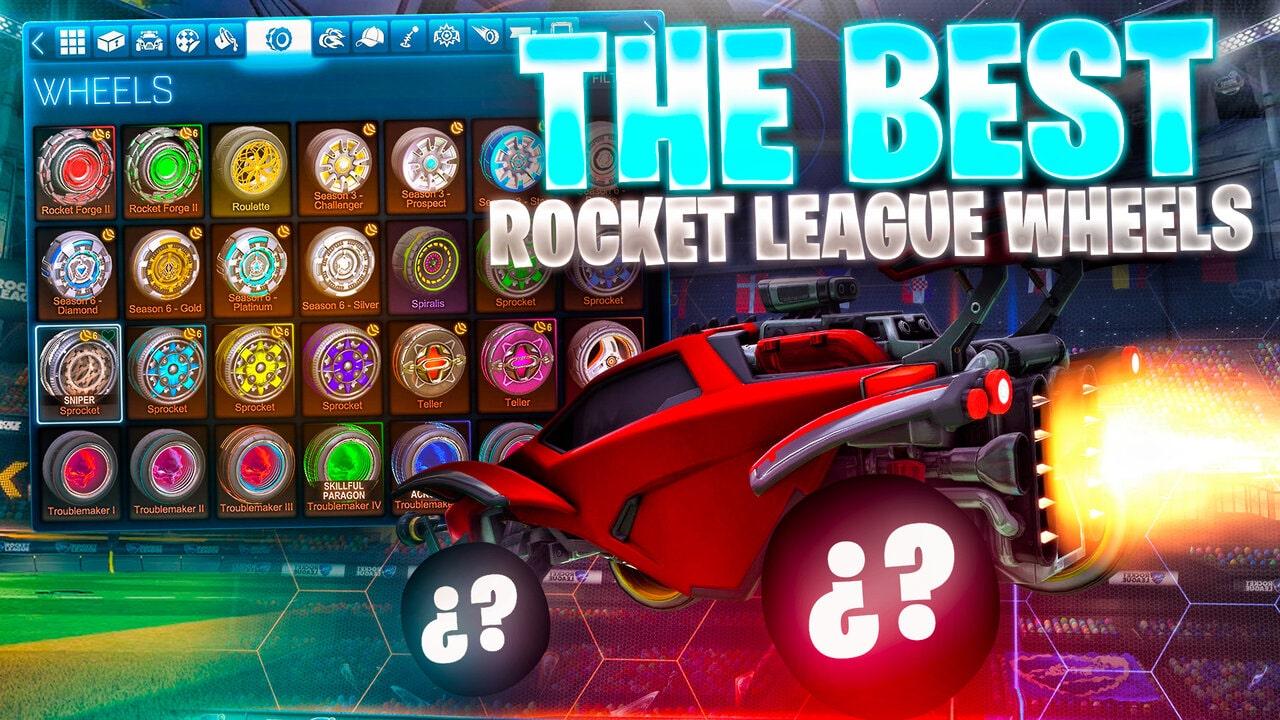 The Best Rocket League Wheels for your Car!