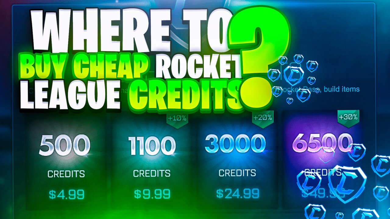 where to buy cheap rocket league credits