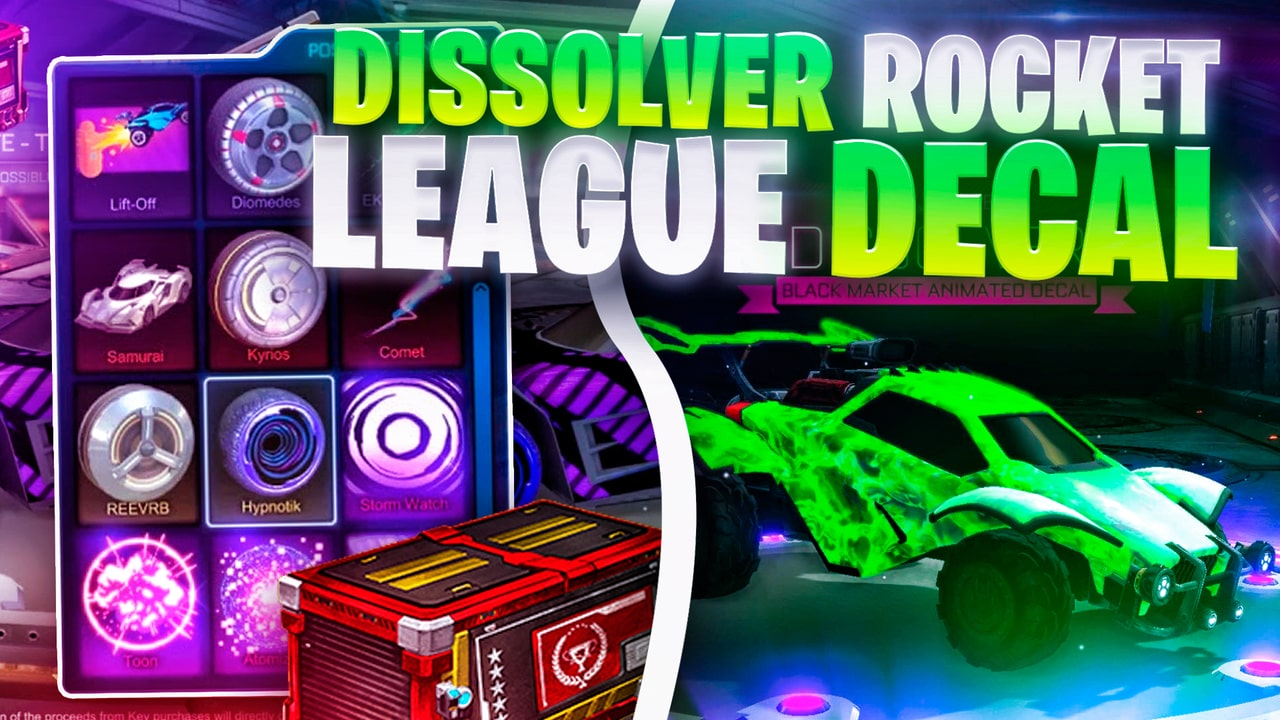 Triumph Crate Exclusive - Dissolver Rocket League Decal