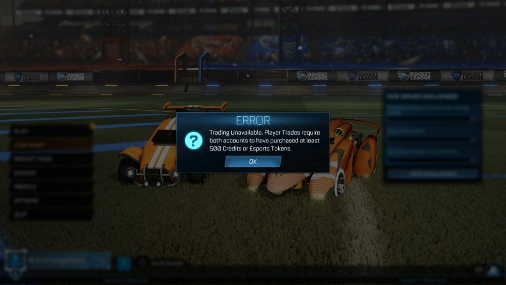 unlock trading rocket league