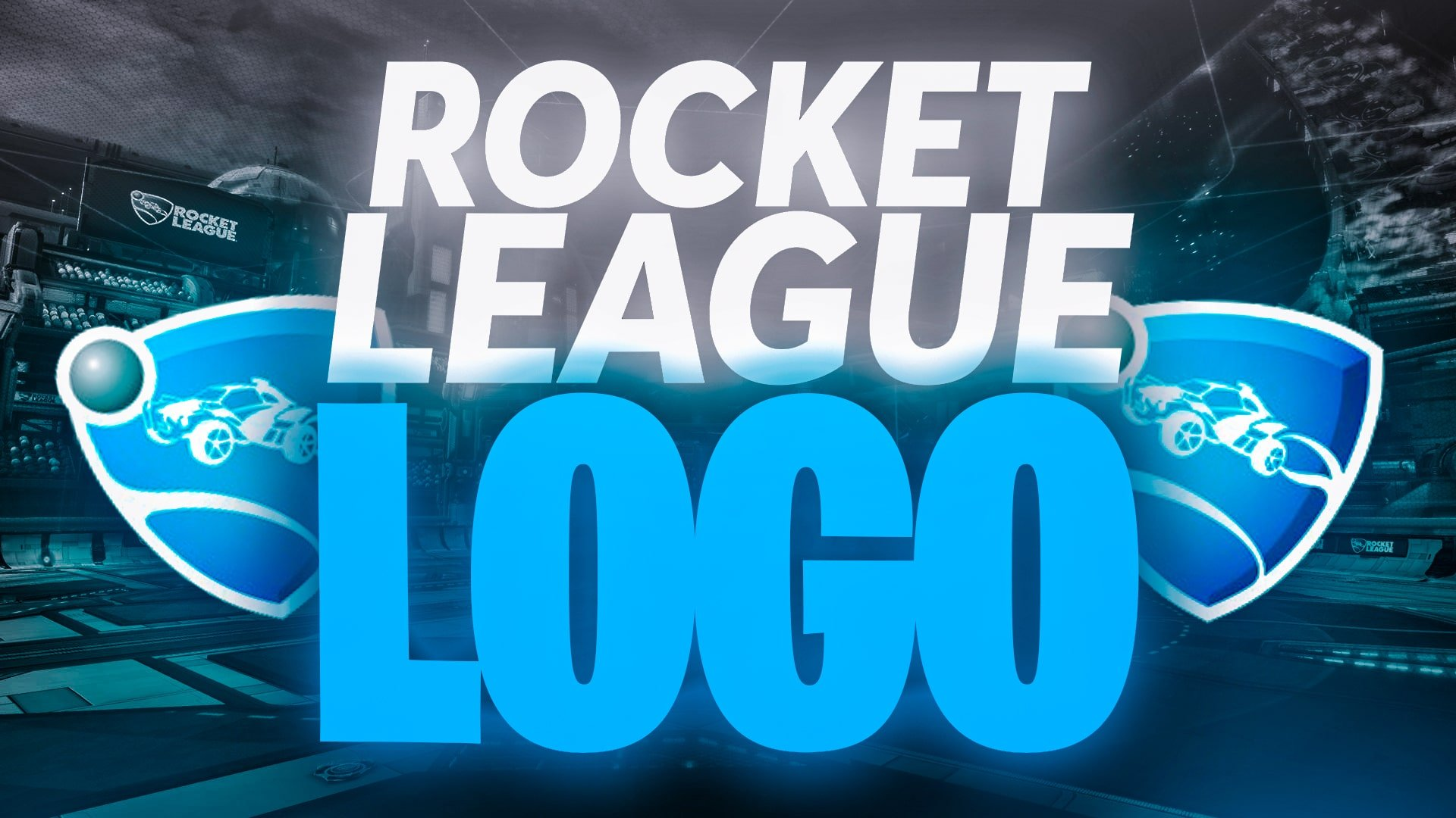 Rocket League Logo with Download
